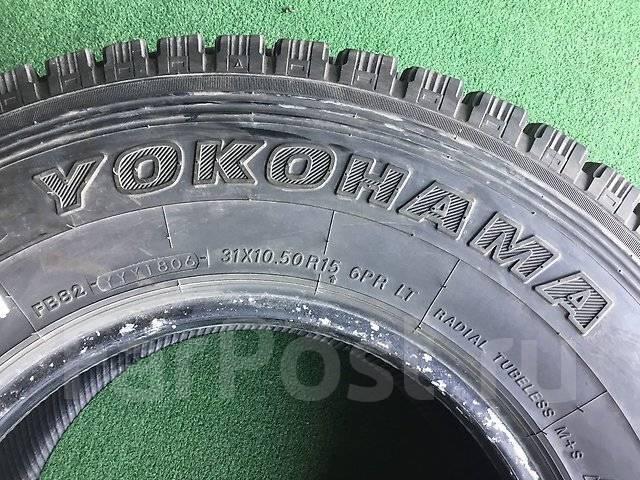 Yokohama Geolandar I/T G072. Зимние, без шипов, 2006 год, износ: 5%, 4 шт