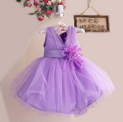 Платья бальные. Рост: 98-104, 104-110 см