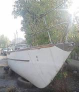Яхта. Год: 1991 год, длина 9,00м., двигатель подвесной, 1,00л.с., бензин