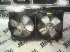 Радиатор охлаждения двигателя. Toyota Corolla, CE96 Toyota Sprinter, CE96