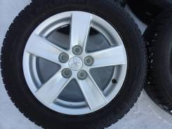205/60R16 Michelin X-Ice+литье Mitsubishi, R16 5*114,3 6.5JJ ET46 в Бр. 6.5x16 ET46 ЦО 67,1мм.