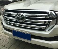 Накладка на Решетку хром LAND Cruiser 200 2016. Toyota Land Cruiser. Под заказ