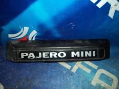 Подсветка номера Mitsubishi Pajero Mini