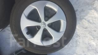 Продам комплект японских колес летние 195/65/15 на литье на Приус5x100. 6.5x15 5x100.00 ET45