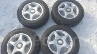Продам комплект японских колес 185/70/14 на литье.5x100 5x114. 6.0x14 5x100.00, 5x114.30 ET38