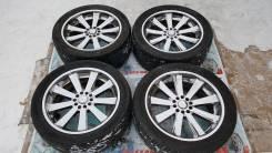 Офигенные хром колеса из Японии R22 5/127 5/135. 9.5x22 5x127.00, 5x135.00 ET10 ЦО 86,8мм.