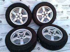 "Комплект литья ""Prasivo"" на зиме Toyo 195/65R15. 6.0x15 5x114.30 ET45"