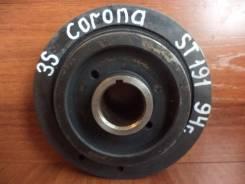 Шкив коленвала. Toyota: Cresta, Carina, Vista, Celica, Camry, Corona, Caldina, Carina II, Carina E, Avensis, Corona Exiv, Carina ED, Mark II, Chaser Д...