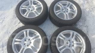 Продам комплект японских колес 215/55/17 на литье енкей 5x100. 7.0x17 5x100.00 ET48