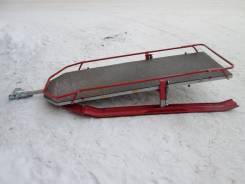 Сани для снегохода металлические на полозьях