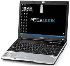 "MSI Megabook. 17.1"", 1,7ГГц, ОЗУ 2048 Мб, диск 60 Гб, WiFi"