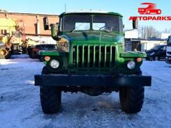 Урал 4320. Бортовой грузовик с кму на шасси урал 1991 года, 2 700 куб. см., 6 225 кг.