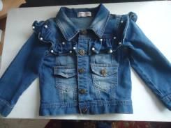 Куртки джинсовые. Рост: 98-104 см