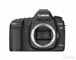 Canon EOS 5D Mark II. 20 и более Мп, зум: 14х и более