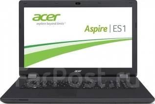 """Acer Aspire ES1. 15.6"""", 2,1ГГц, ОЗУ 2048 Мб, диск 320 Гб, WiFi, Bluetooth, аккумулятор на 4 ч."""
