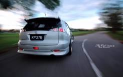 Накладка на бампер. Toyota Caldina, AZT241, AZT241W, AZT246, AZT246W, ST246, ST246W, ZZT241, ZZT241W