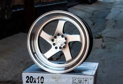 NZ Wheels F-28. 9.5/10.5x18, 5x100.00, 5x114.30, ET38/20, ЦО 73,1 мм.