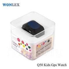 Детские умные часы-телефон Wonlex Q50 GPS Kids Smart Baby Watch