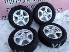 "Комплект литья ""Grass"" на зиме Bridgestone 205/65R15. 6.0x15 5x114.30 ET43"