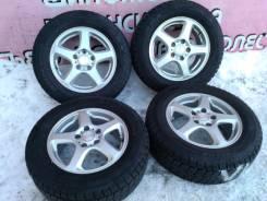 """Комплект литья """"Sibilla"""" на зиме Dunlop 205/65R15. 6.0x15 5x114.30 ET45 ЦО 70,0мм."""