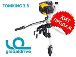 Hangkai. 3,80л.с., 2х тактный, бензин, нога S (381 мм), Год: 2016 год