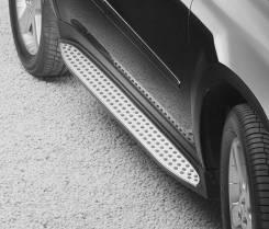 Порог пластиковый. Mercedes-Benz GL-Class, X164. Под заказ