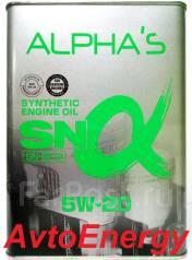Alpha's. Вязкость 5W-20, синтетическое