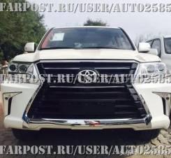 Обвес кузова аэродинамический. Lexus LX570 Toyota Land Cruiser