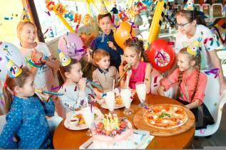 Детский день рождения на батутной арене JUMPinc, детский праздник