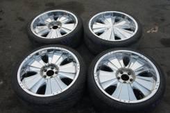Продам комплект колес, возможна отправка. 8.5x20 5x114.30 ET30 ЦО 73,0мм.