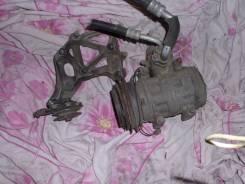 Компрессор кондиционера. Mitsubishi Delica Двигатель 4G64