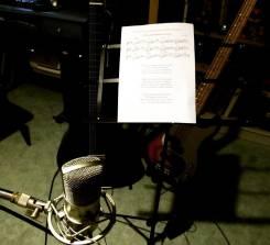 Услуги композитора и звукозапись, нотный набор, услуги поэта-песенника