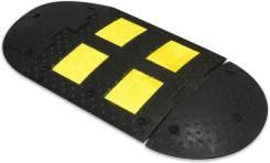 Лежачий полицейский искусственная дорожная неровность ИДН-500 1 метр