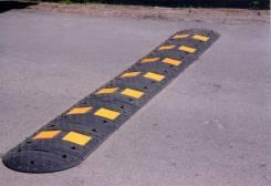 Лежачий полицейский искусственная дорожная неровность ИДН500 4,5 метра