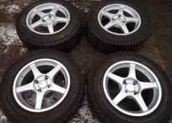 Разноширокие диски Modia Keiichi Tsuchiya R16 4x114,3 wheels Japan. 7.0x16, 4x114.30, ET35, ЦО 73,1мм.