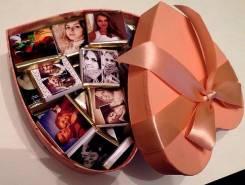 Шоколадные наборы с вашим фото для самых любимых!