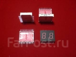 Цифровые индикаторы Sanyo красный цвет, 840 шт. новые