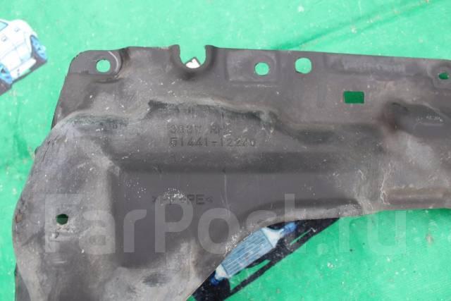 Защита двигателя. Toyota Corolla Axio, ZRE144, ZRE142, NZE141, NZE144 Toyota Corolla, CE140, ZZE142, ZZE141, ZRE142, NZE141 Toyota Corolla Fielder, NZ...