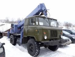 ГАЗ 66. 4WD Автобуровая, ямобур, бурильно крановая машина на шасси ГАЗ66 4WD, 5 200 куб. см., 3 000 кг.