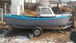 Лодка. Год: 1981 год, длина 4,60м., двигатель подвесной, бензин