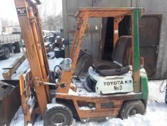 Toyota. Продам вилочный погрузчик toyota, 1 500 куб. см., 1 500 кг.