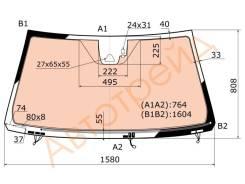 Стекло лобовое c обогревом+камера в клей TOYOTA LAND CRUISER/LEXUS LX570 15- XYG FJ200-L-VCPSSW LFW/W/X