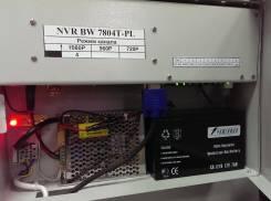 4 канальный IP видеорегистратор NVR интегрированный PoE-4, 1HDD NVR BW-7804T-PL