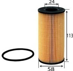 Фильтр масляный элемент AZUMI OE22074