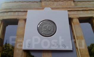 ФРГ. 50 пфеннигов 1949 года. J.