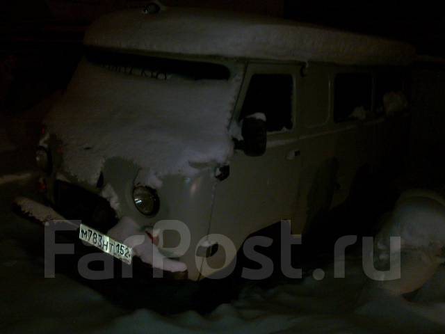 УАЗ Буханка. механика, 4wd, 2.4 (80 л.с.), бензин, 74 000 тыс. км