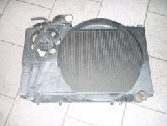 Радиатор охлаждения двигателя. Toyota Mark II, GX81