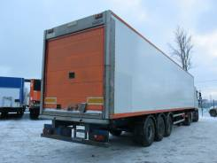 Vector. Рефрижератор Montracon 2005г. Carrier 1800 mt., 35 000 кг.