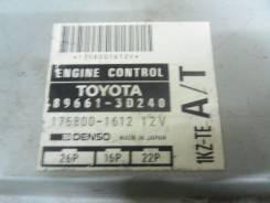 Блок управления двс. Toyota Hilux Surf, KZN185 Двигатель 1KZTE