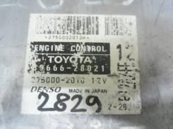 Блок управления двс. Toyota Estima, ACR40 Двигатель 2AZFE